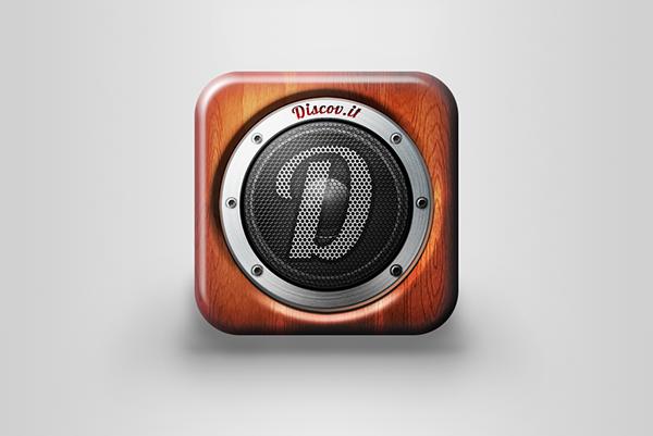 Music repro  reprobox  speaker  iOS Icon application icon