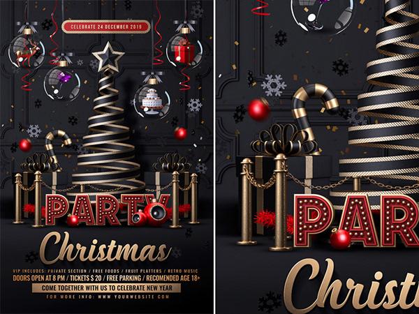 有創意感的23個聖誕節海報欣賞