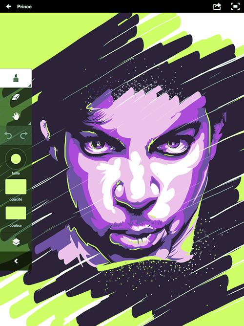 Adobe Ideas App - Illustrations