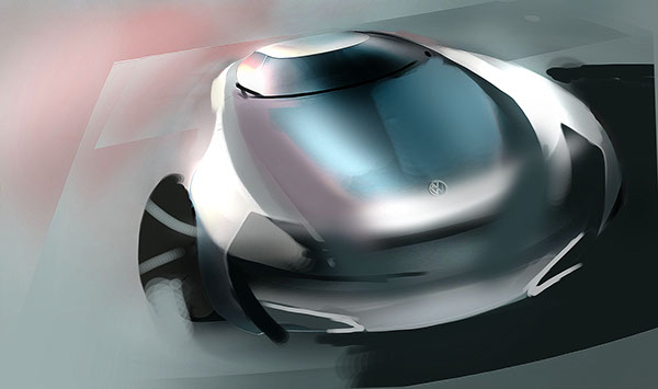 volkswagen concept car Interior exterior Vehicle