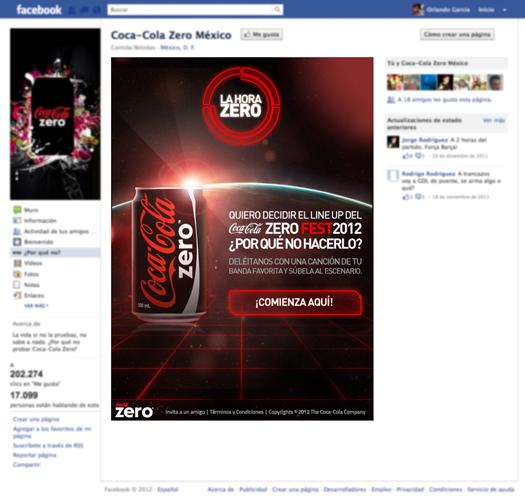 coca zero design app