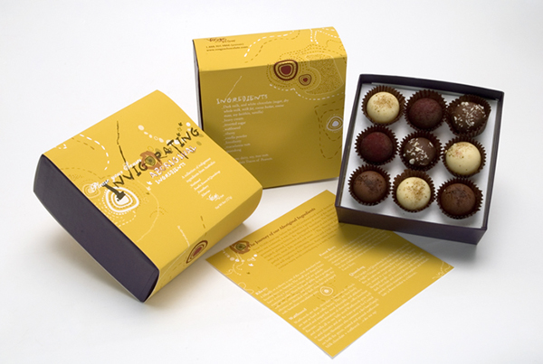 Vosges Haut Chocolate Packaging Creative Project