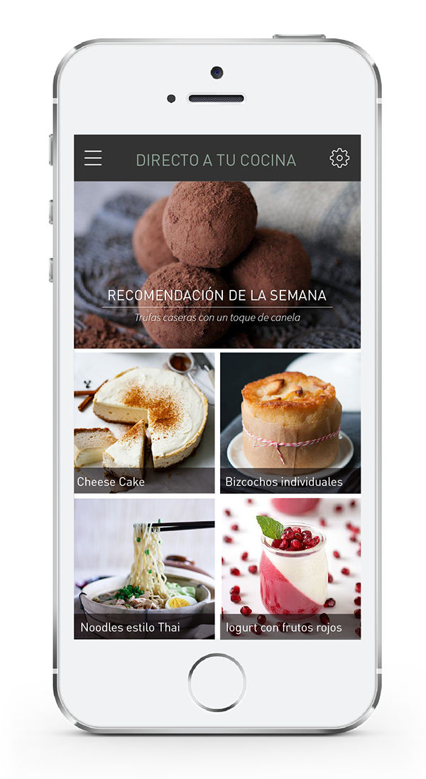Food recipe template on behance forumfinder Choice Image