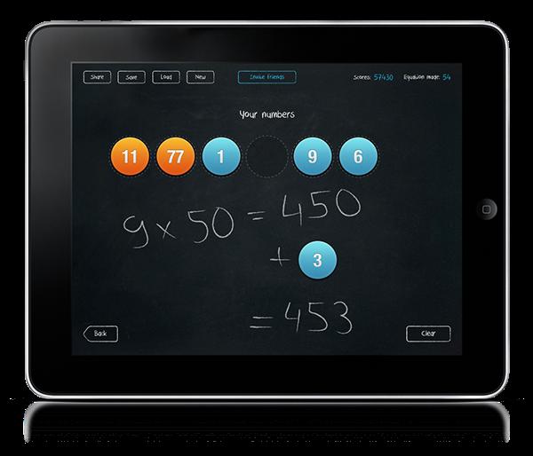 application iPad mathtick game Icon