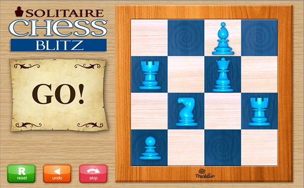 Solitaire Chess online app & media on Behance