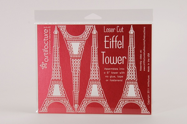 Origami : How to make a simple Eiffel Tower for kids - easy paper ... | 400x600