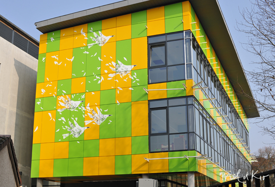 mel et kio wall design design mural wall art art mural monumental Art mural design mural monumental