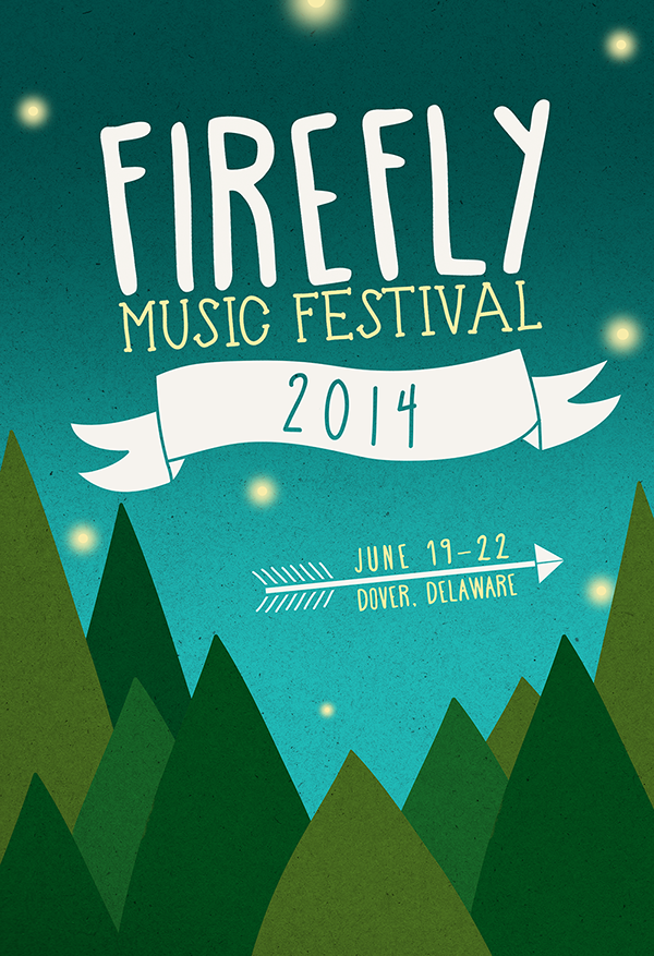 Firefly Music Festival Poster Contest on Behance