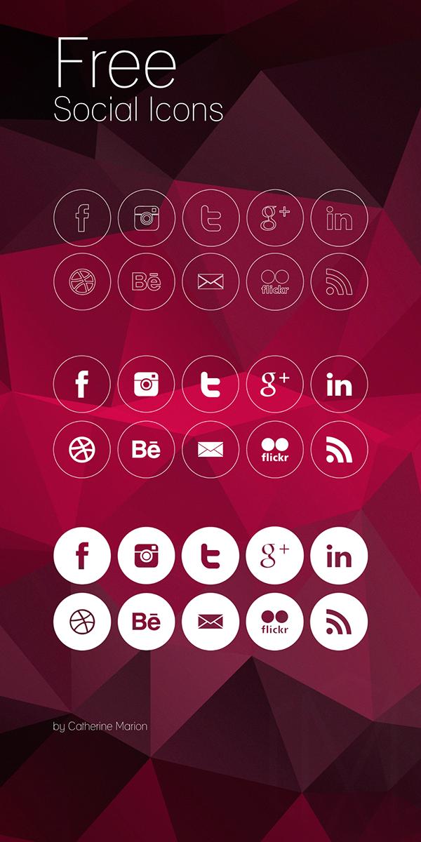 icons iconography social media social free freebies