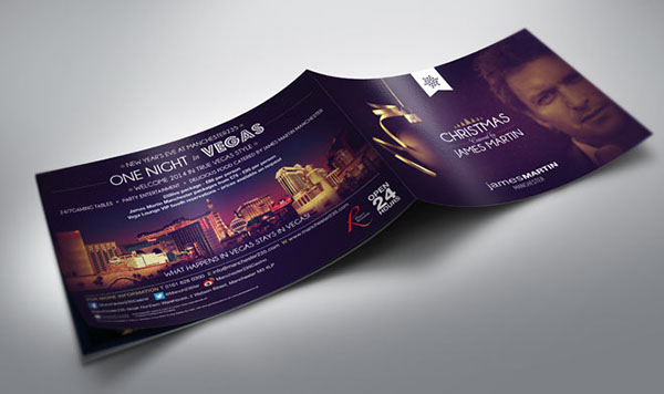 Restaurant Christmas Brochure