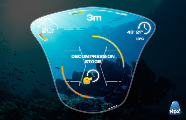diving Interface mask