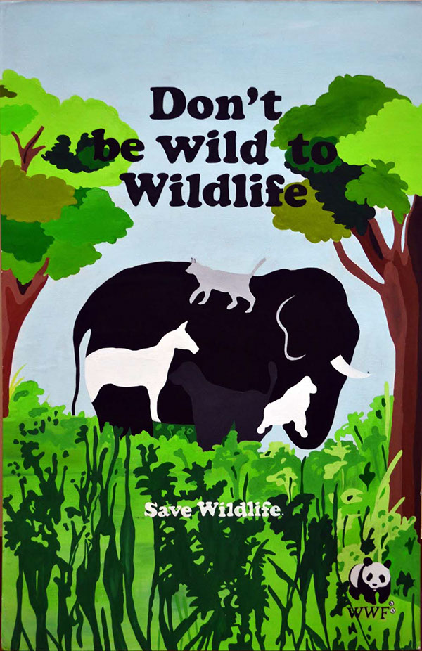 Save Wildlife Poster on Behance