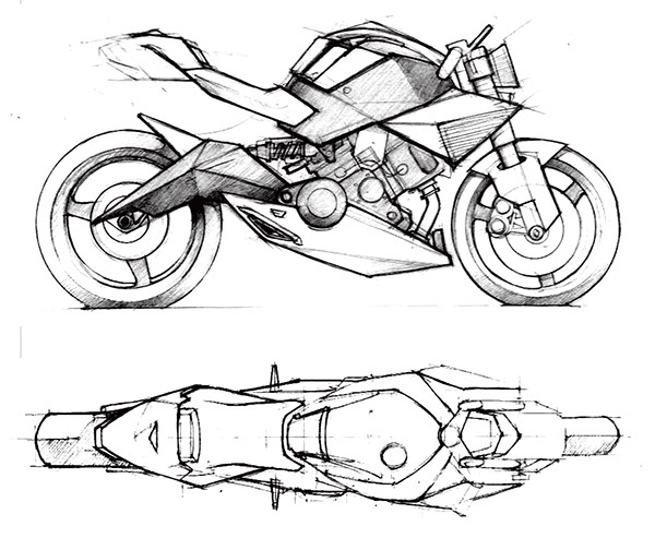 Motorcycle Design And Model Spada on industrial motorcycles