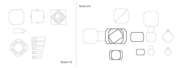 aluminum aluminium cube risd ID metal Metal Forming sheet gyroscope interactive toy Gyroscopic spin Project matthew lim