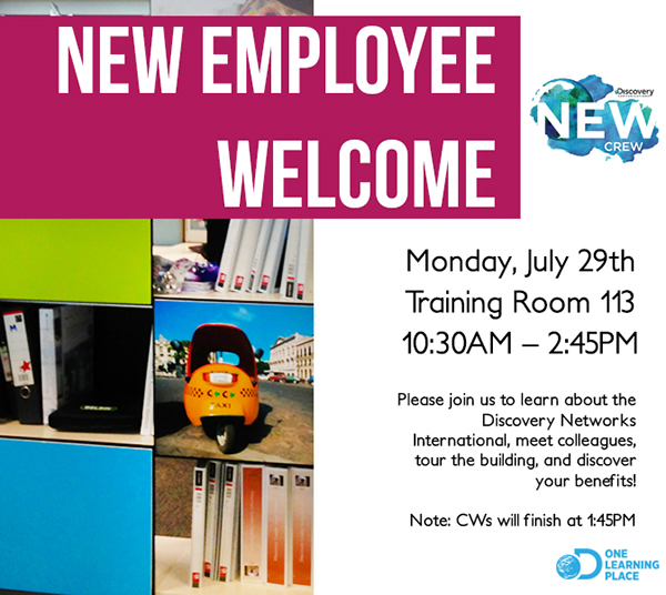New employee welcome flyer on behance draft thecheapjerseys Choice Image