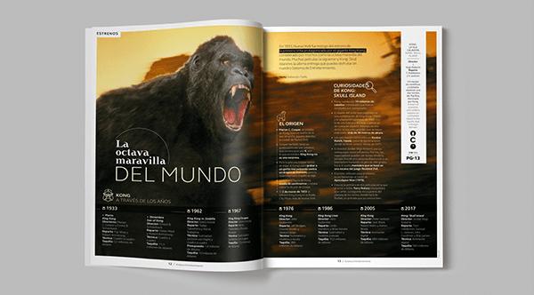 Diseño editorial - travel magazine