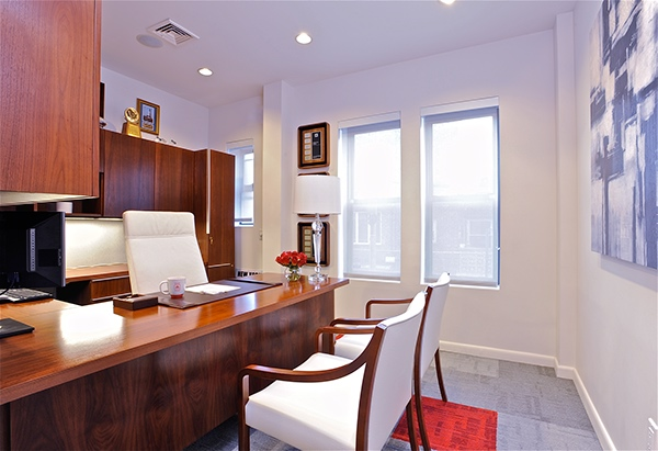 Insurance and financial service office project on risd for Interior designers in brooklyn ny
