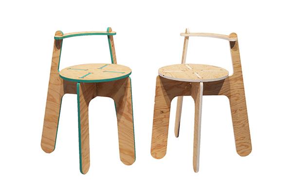 Enjoyable Blithe Flatpack Stool On Risd Portfolios Theyellowbook Wood Chair Design Ideas Theyellowbookinfo