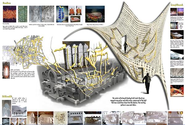 concept design textile museum on behance. Black Bedroom Furniture Sets. Home Design Ideas