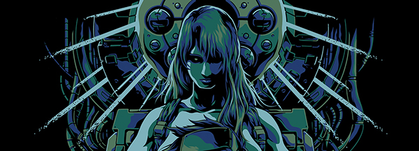 Ghost In The Shell Poster Print On Behance