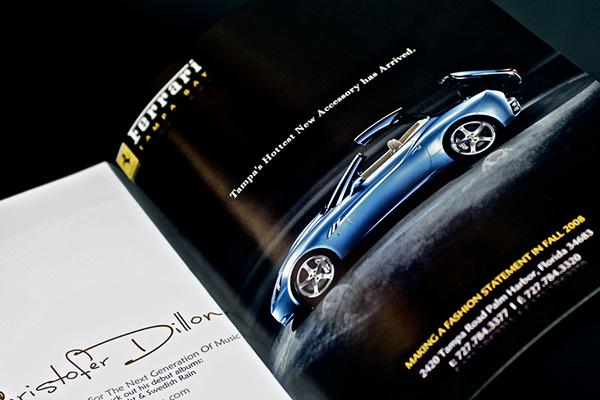 Ferrari Magazine Ad On Behance