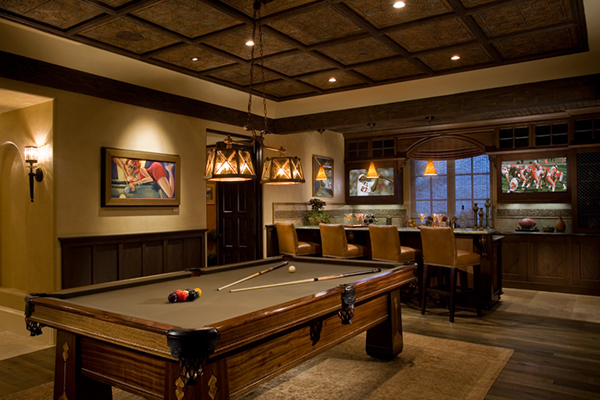 Sports Bar amp Billiards Room Philharmonic House On Behance