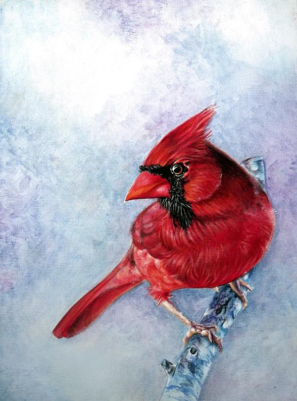 Oil Paintings - Birds on Behance