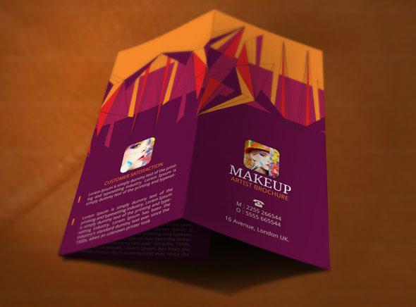 best makeup brochure template modern design on behance