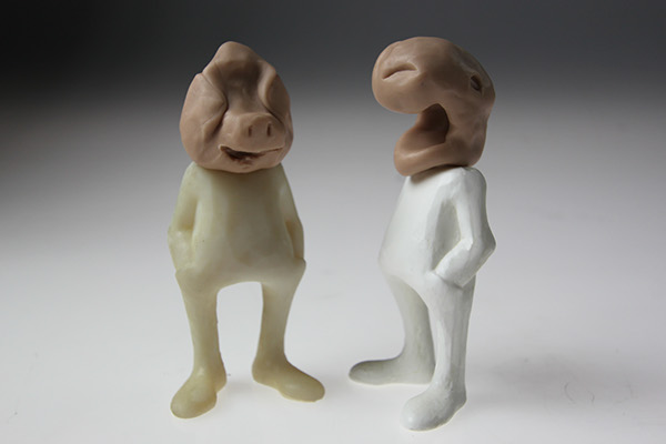 sculpey Rapid Prototyping figurines collectible