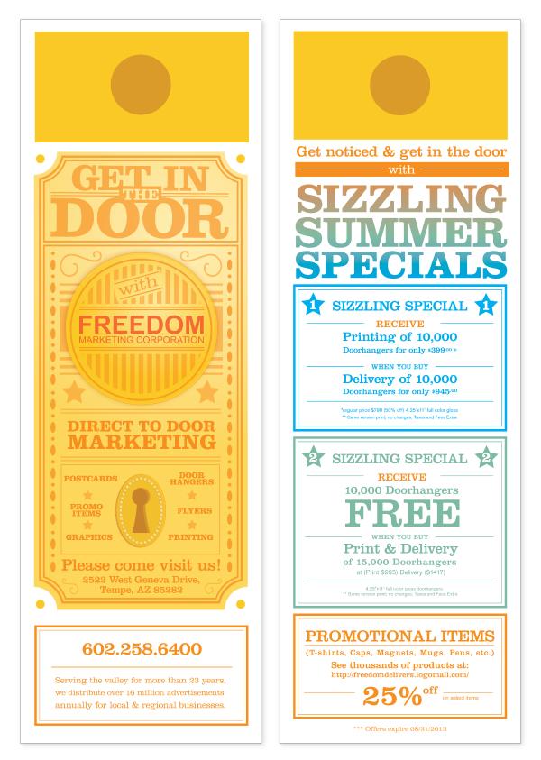 print Door-to-Door Distribution