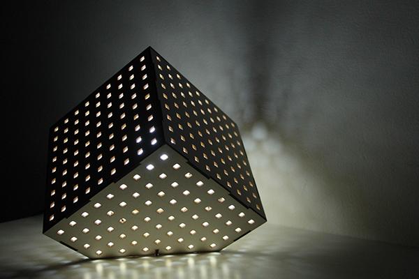 El Laser Cut Lamp On Behance