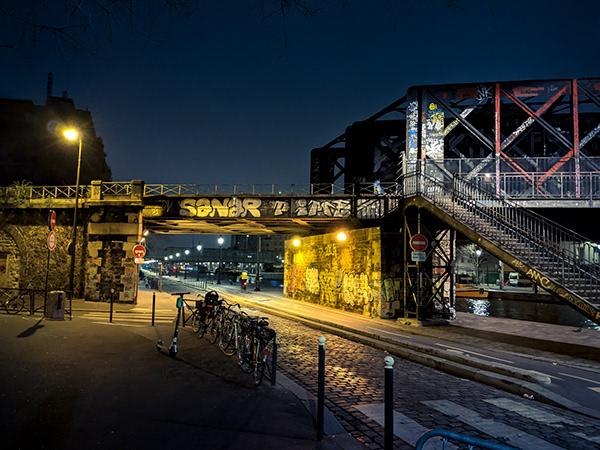 Nocturnal escapades in Paris