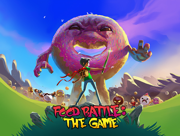 Food Battle The Game On Behance