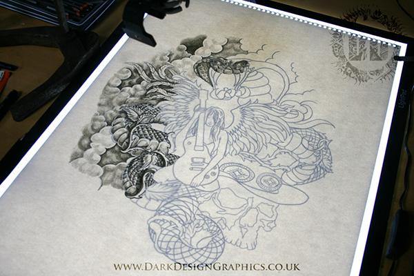 Angel Snake Custom Tattoo Design On Behance