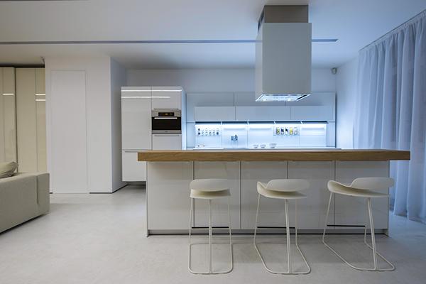 Interior Minimalism apartment ukraine Kyiv