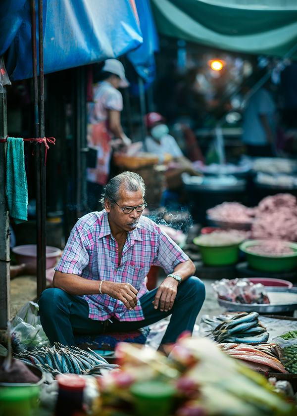 Maeklong railway market - Bangkok