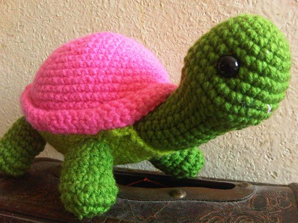 Amigurumi Tortuga Tutorial : Amigurumi Turtle / Tortuga on Behance