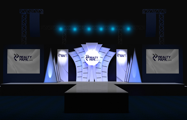 Fashion Show Stage Design Realty Launch On Behance