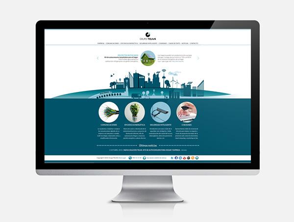Grupo Telius Web Site