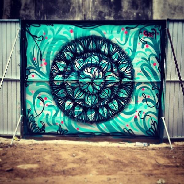 Mandala Wall Art Paint