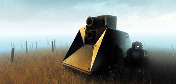 lowpoly facets CGI Radiosity dof