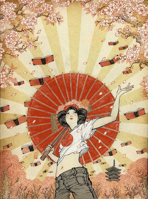 by Yuko Shimizu via behance.net