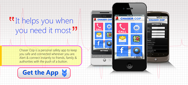 Chaser Cop  Whizpoint iphone app chaser Cop Umair aftab