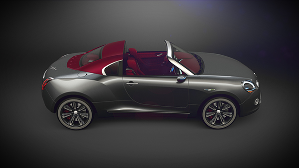 karmann ghia coupe concept 2013 on behance