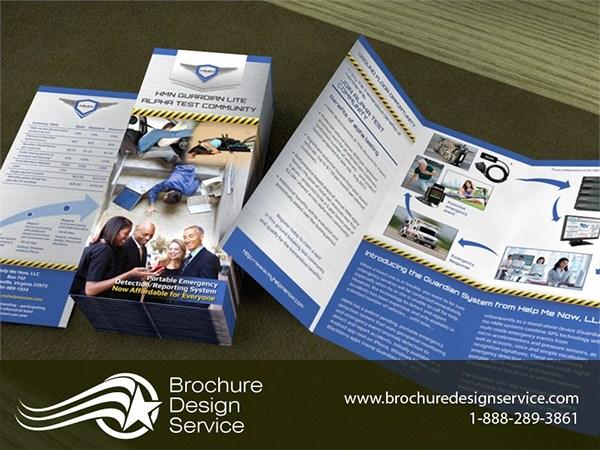 tri fold brochure samples on pantone canvas gallery