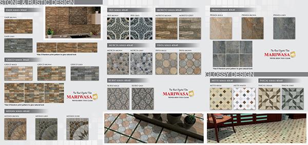 Mariwasa Full Hd Tiles Tri Fold Brochure On Behance
