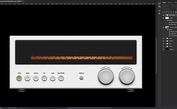 Lafayette Radio Stereo Receiver