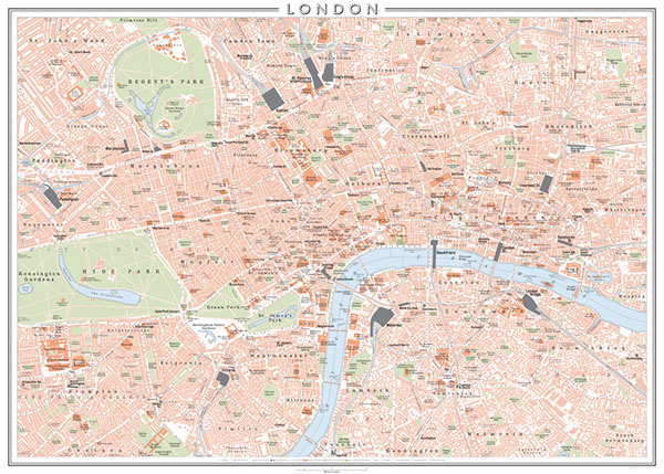Map Centre London.Map Of Central London On Wacom Gallery