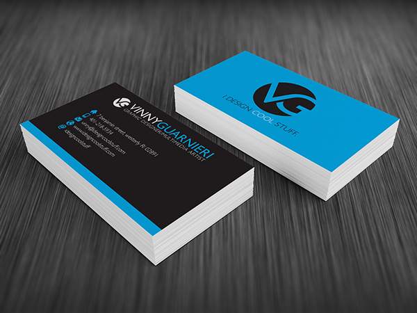 Vg business card ii on behance this is a rework of my personal brand logo and business card that represents me a proffesional graphic designer colourmoves