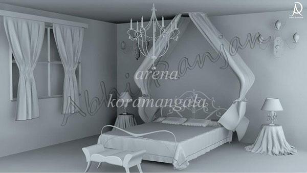 3D Interior/Exterior Architecture on Behance